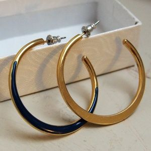 Two-Tone Hoops! Mix/Match Sale 2/$10!